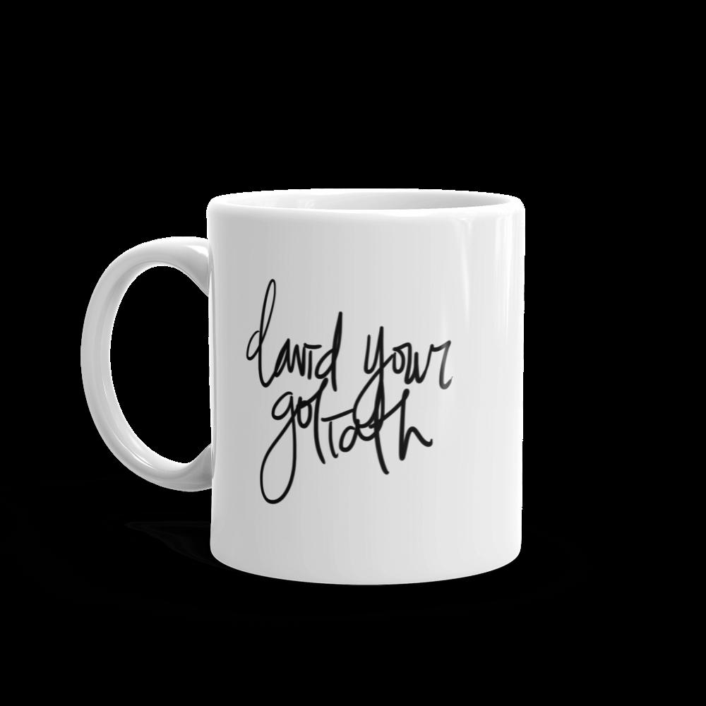 David Your Goliath Mug - MattieJames.com